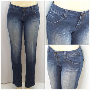 Zana Jeans - ZANA JEANS, Straight Leg Denim Jeans, size 13